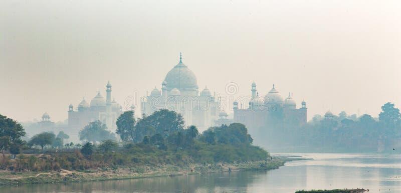 Agra Taj Mahal. Taj Mahal -  famous architectural monument. Agra, India stock photos