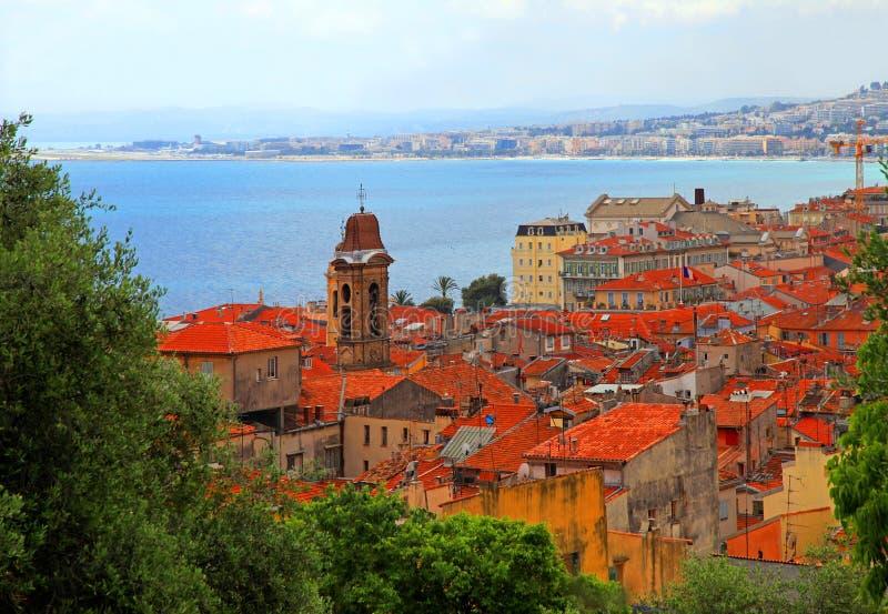 Agradável, Cote d'Azur, França imagens de stock