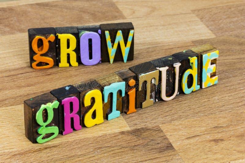 Agradecimiento agradecido aprecio espiritual religioso a menudo rezar imagen de archivo