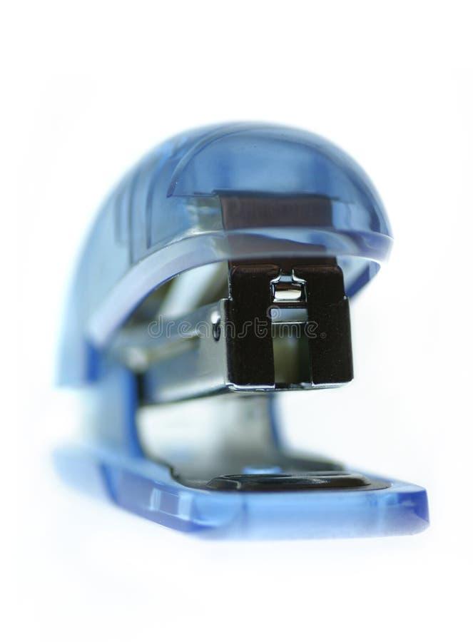 Agrafeuse bleue photo stock
