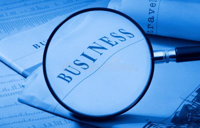 Agrandissez les affaires photos stock
