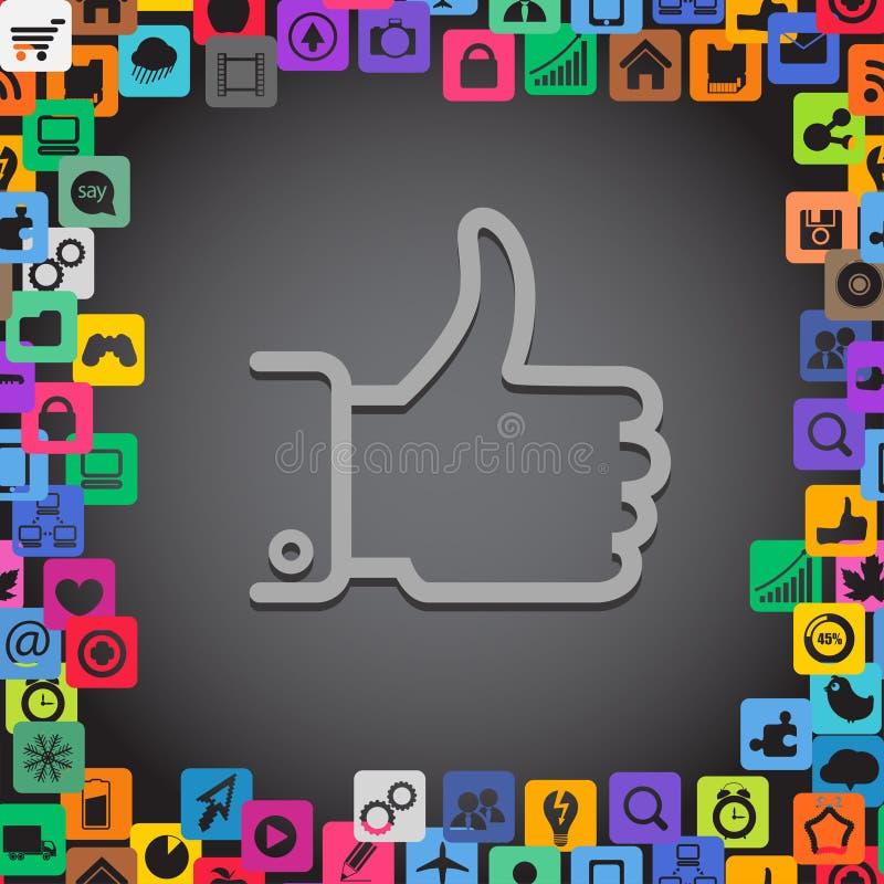 Download Agree symbol stock vector. Illustration of best, blog - 24862399