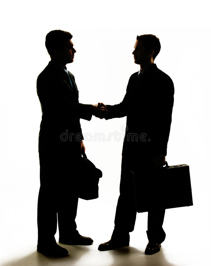 Agreement business. stock photos