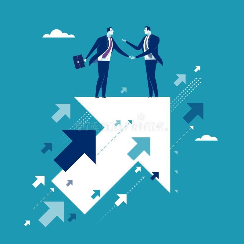 Agreement vector illustration