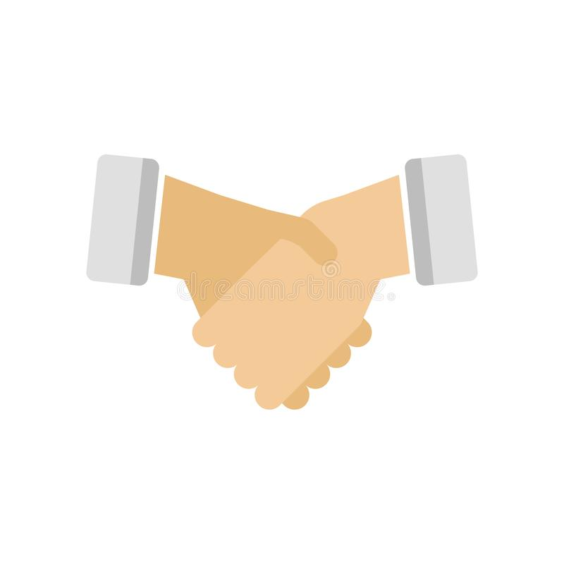 Agreement icon vector sign and symbol isolated on white background, Agreement logo concept. Agreement icon vector isolated on white background for your web and vector illustration