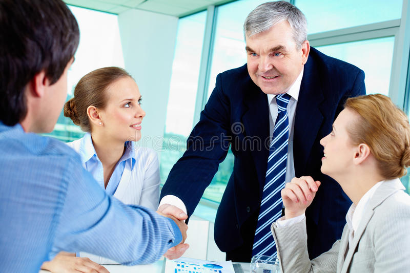 Download Agreement stock image. Image of company, elderly, gesture - 32730605