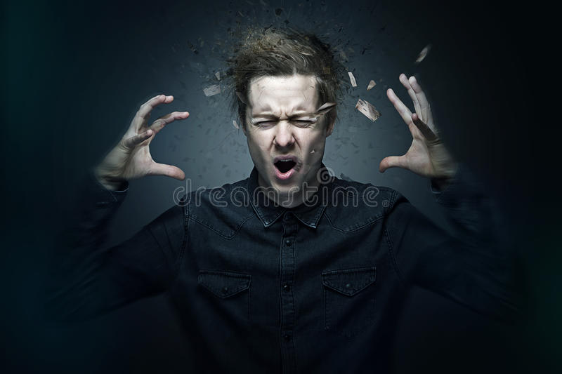 agression photo stock