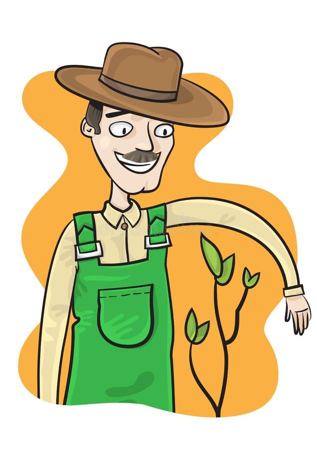 Download Agricoltore illustrazione vettoriale. Illustrazione di raccolta - 30831347