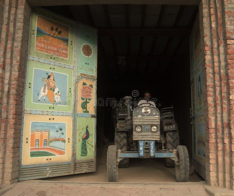 Agricoltore indiano fiero immagini stock