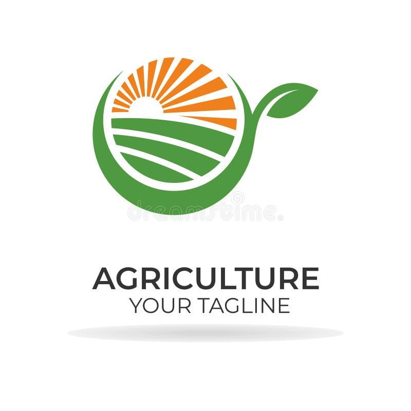 Agricoltura Logo Design fotografia stock libera da diritti