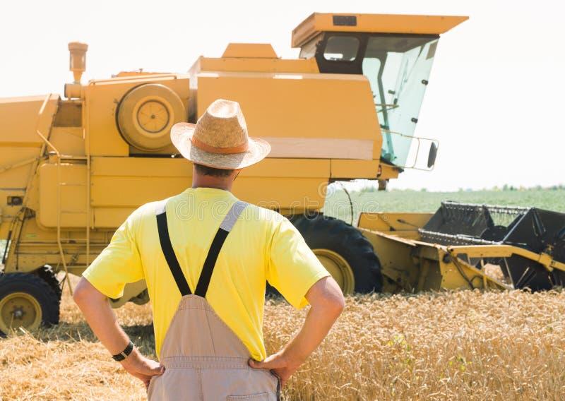Agriculteur et cartel photos stock