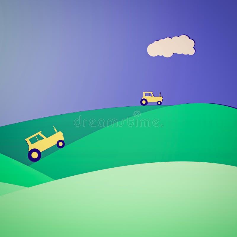 Agricultura ilustración del vector