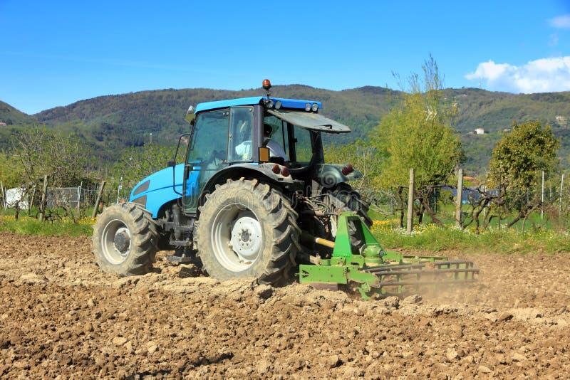 Agricultura, alimentador de cultivo fotografía de archivo libre de regalías