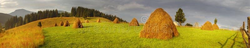 Agricultura de subsistencia alpina imágenes de archivo libres de regalías