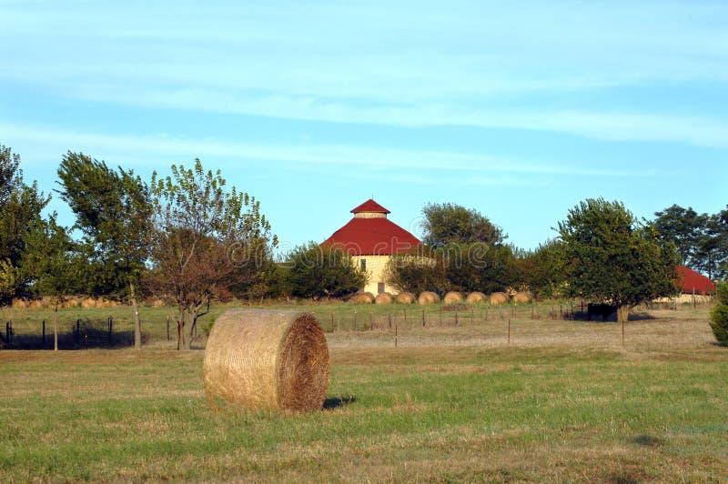 Agricultura em Kansas fotos de stock