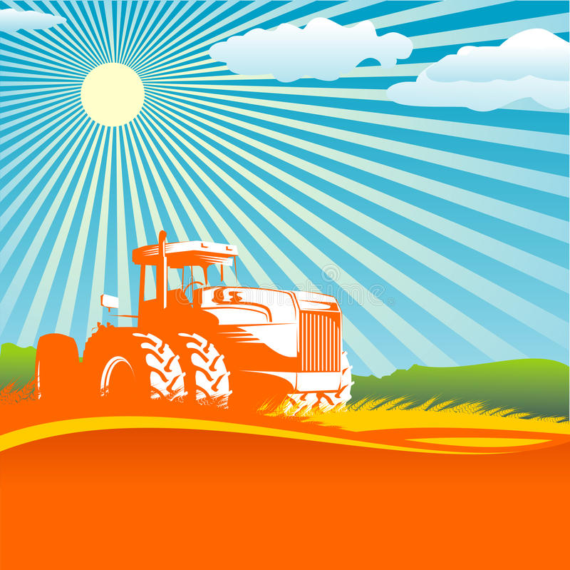 Download Agricultural background stock vector. Image of poster - 11547448