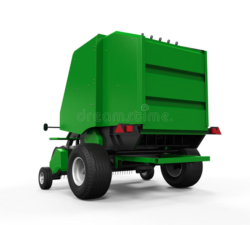 Free Agricultural Baler Isolated Stock Photos - 49493993