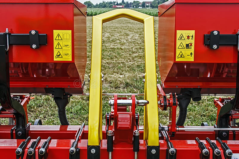 Agricultural equipment. Detail 1 royalty free stock images