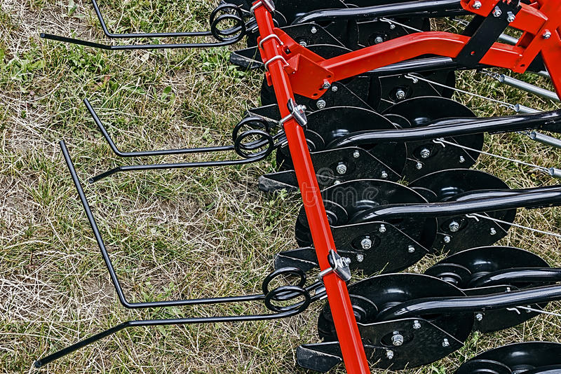 Agricultural Equipment. Detail 105 Royalty Free Stock Image