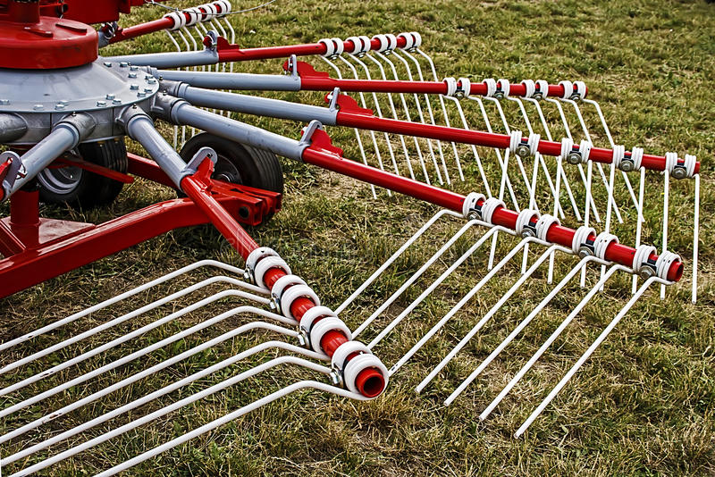 Agricultural equipment. Detail 6 royalty free stock photos