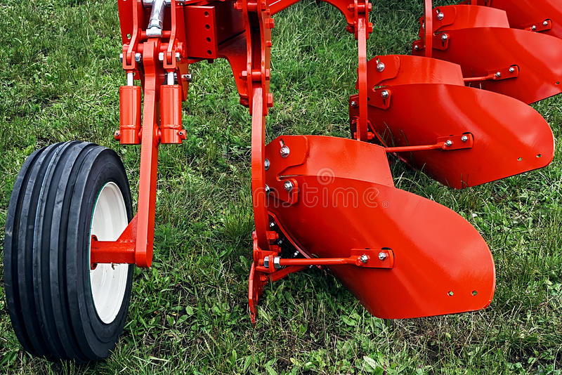 Agricultural equipment. Detail 114 royalty free stock photo