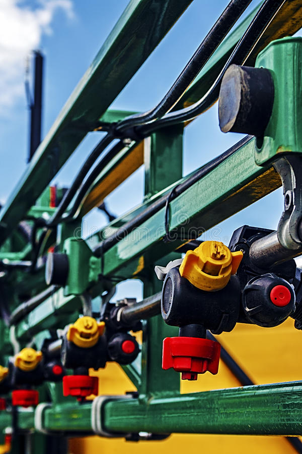 Agricultural equipment. Detail 117 royalty free stock photo