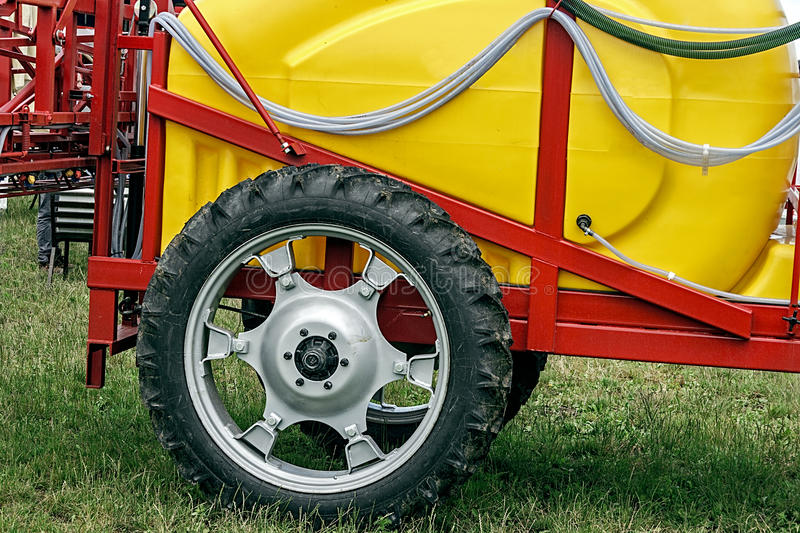 Agricultural equipment. Detail 124 royalty free stock image