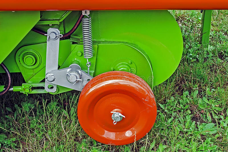 Agricultural equipment. Detail 127 royalty free stock image