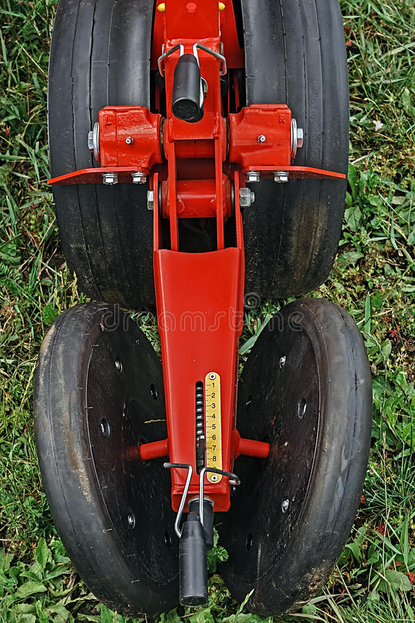 Agricultural equipment. Detail 129 royalty free stock images
