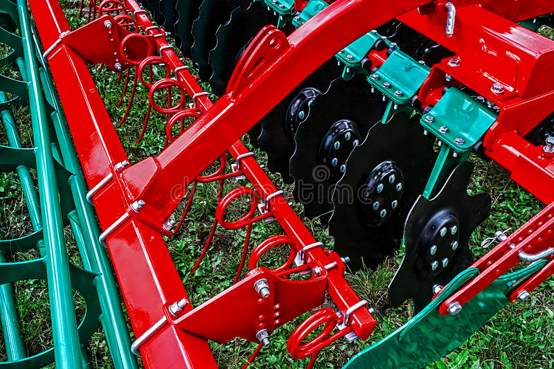 Download Agricultural Equipment. Detail 166 Stock Photo - Image: 33093078