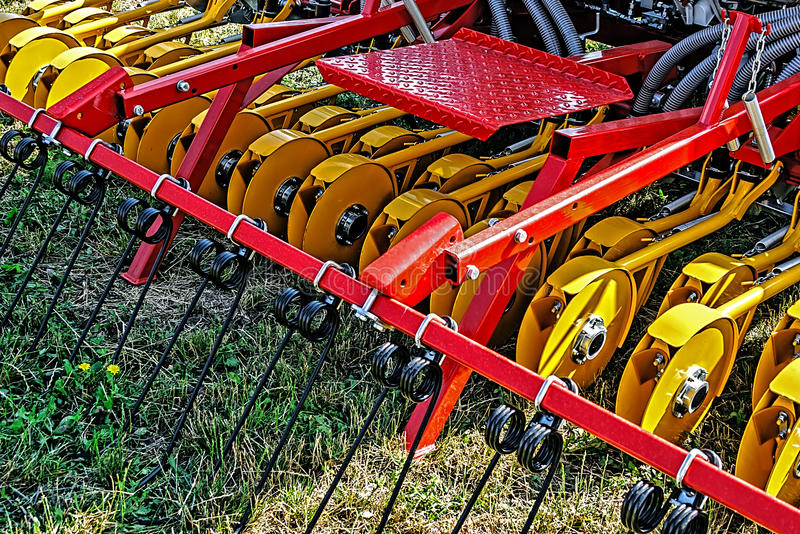 Download Agricultural Equipment. Detail 110 Stock Image - Image of agriculture, heavy: 39507019