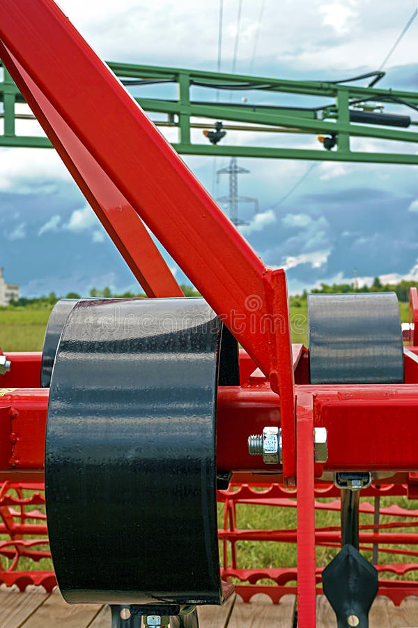 Download Agricultural Equipment. Detail 143 Stock Image - Image of harrowing, automation: 39507025