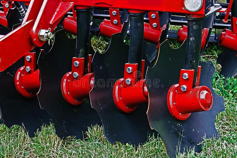 Agricultural equipment. Details 38 royalty free stock photos