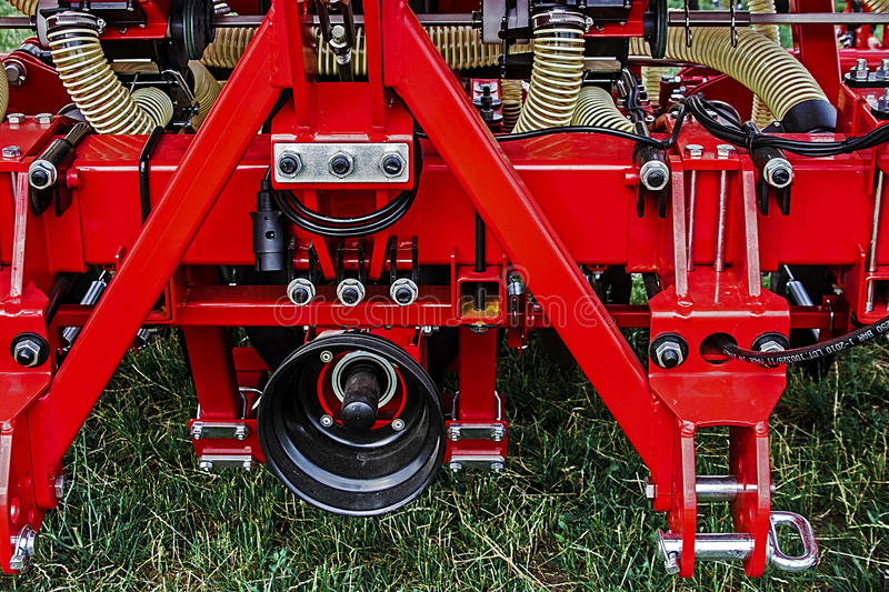 Agricultural equipment. Details 35 royalty free stock photography