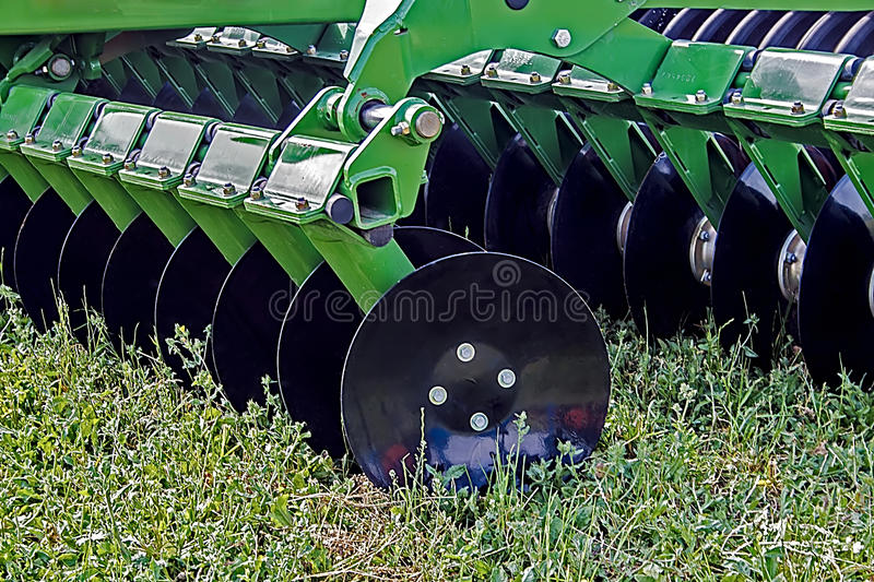 Agricultural Equipment. Details 74 Royalty Free Stock Image