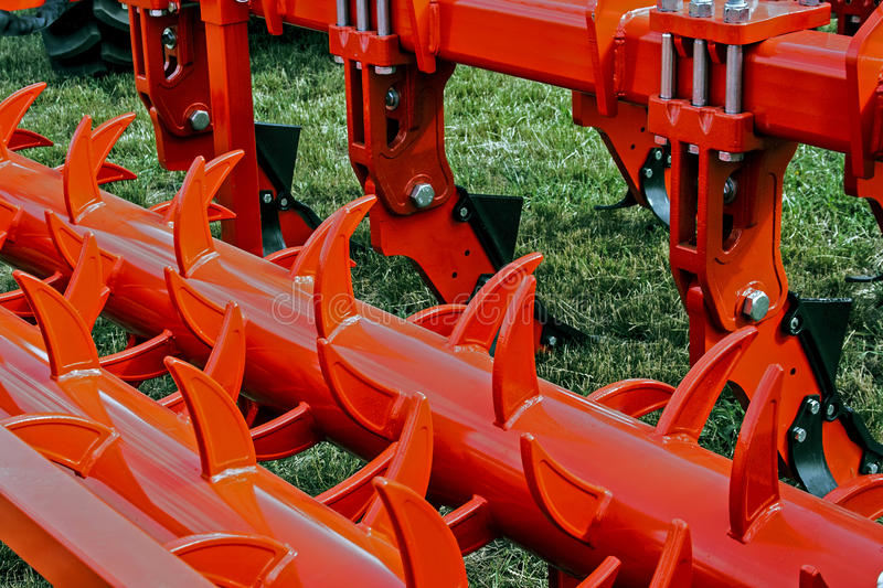 Agricultural equipment. Details 26 royalty free stock image