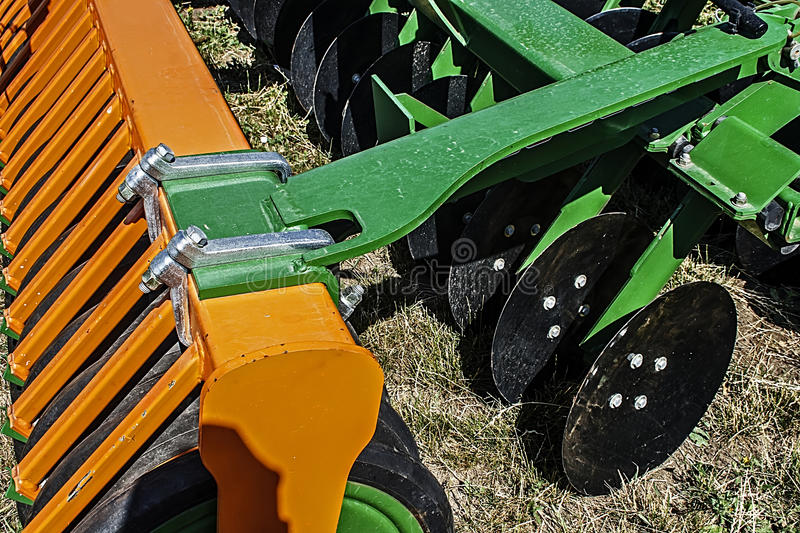 Download Agricultural Equipment. Details 45 Stock Photo - Image of industry, disks: 39507064