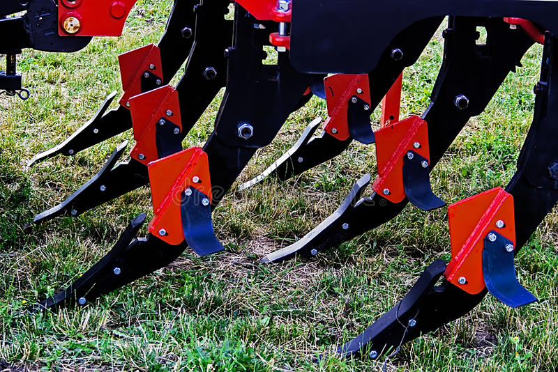 Agricultural equipment. Details 44 royalty free stock images