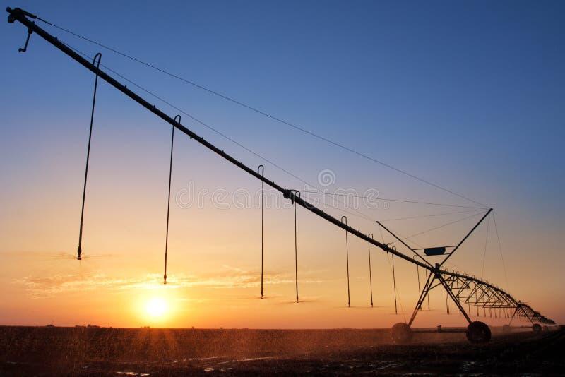 Download Agricultural Irrigation Sprinkler Stock Image - Image: 25738915