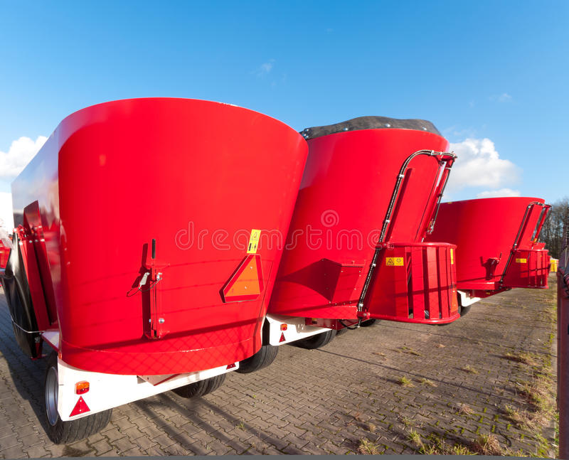Agricultural Machines Royalty Free Stock Images