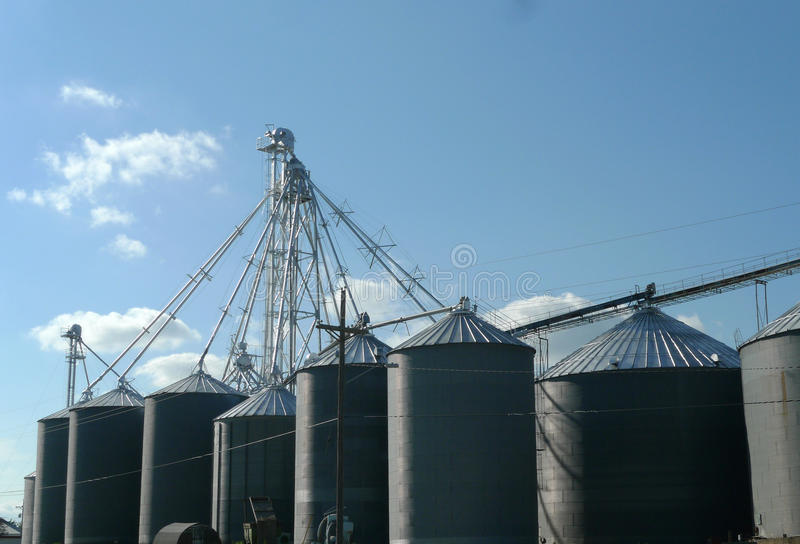 Agriculture Bins royalty free stock images