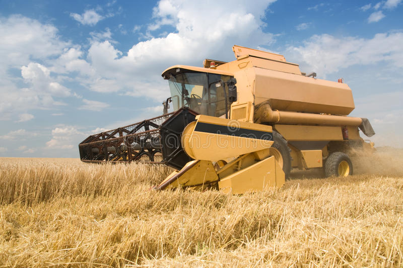 Download Agriculture - Combine stock image. Image of agriculture - 15338511