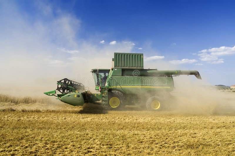 Agriculture - Combine royalty free stock photos