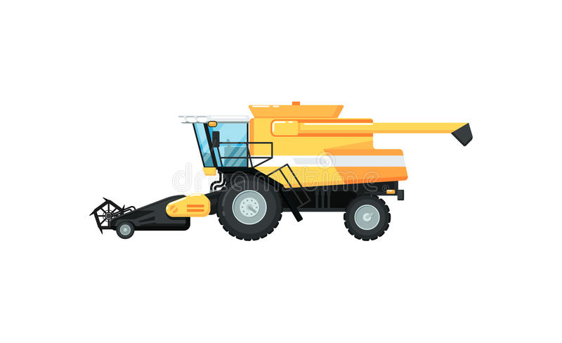 Agriculture combine harvester vector illustration vector illustration