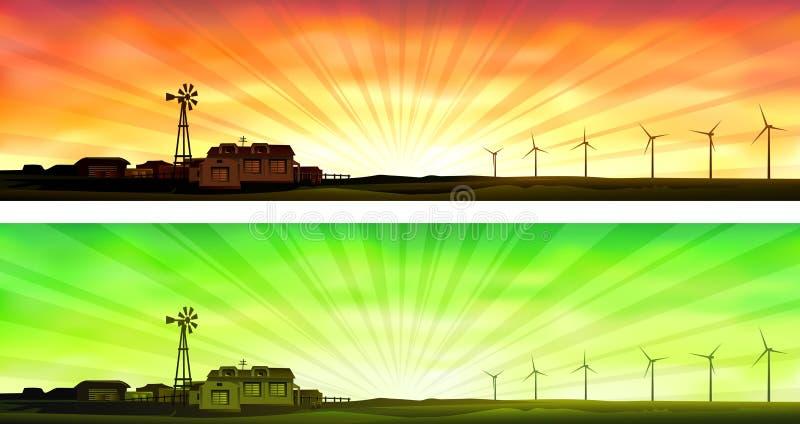Agriculture d'Eco illustration libre de droits