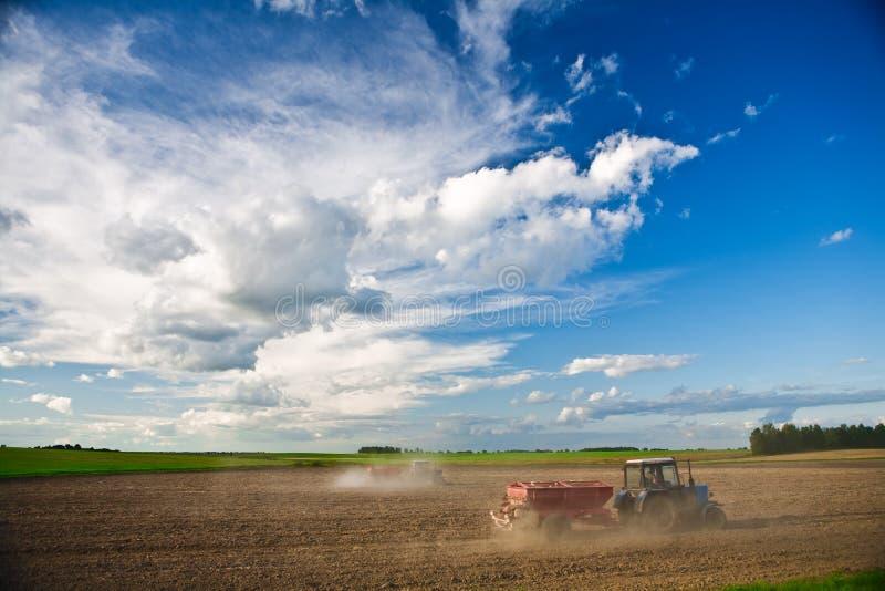 Agriculture de zone photos stock
