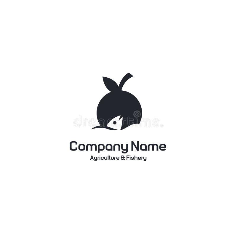 Agrofish logo royalty free stock photos