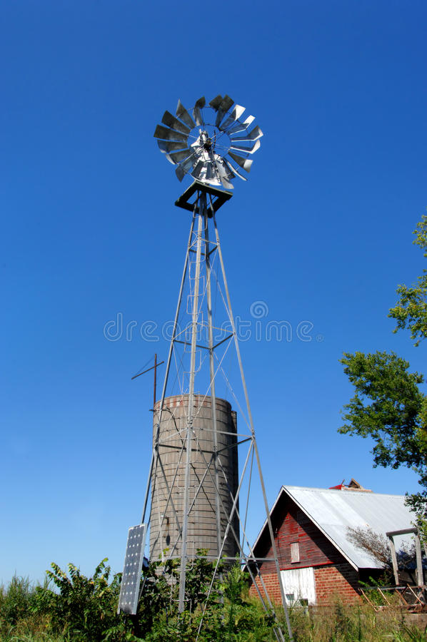 Agriculture in Kansas stock photography