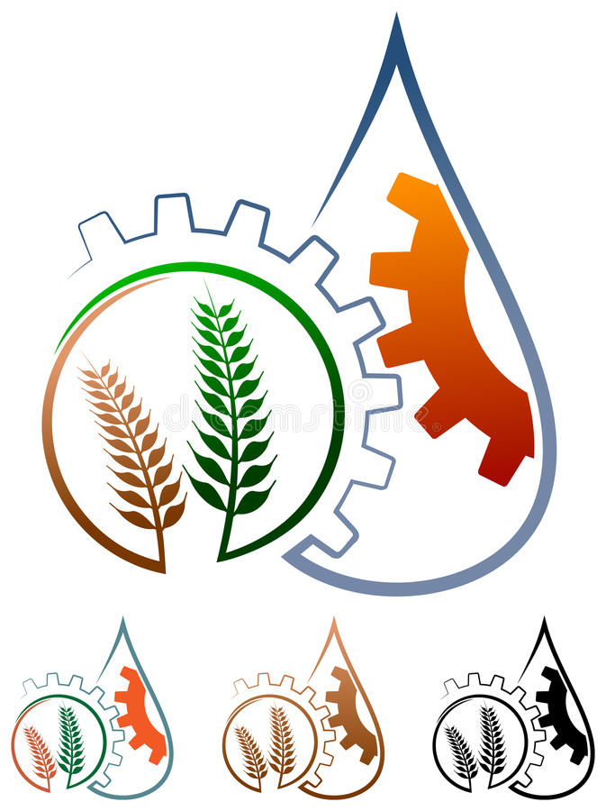 Agriculture logo vector illustration