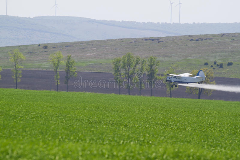 Download Agriculture plane stock photo. Image of dusting, sprayer - 30378004